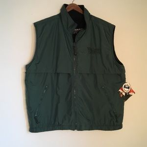 Reversible Fleece/Water Resistant Vest WI Lutheran